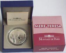 Frankreich 10 Euro Silbermünze Mutter Teresa 2010 PP