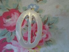 Oval Vintage  Mother of Pearl Buckle