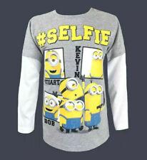 Neu Primark Minions Selfie Damen Sweatshirt Unverbesserlich Despicable me