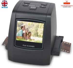 22MP Film & Slide Scanner All-In-1 Super 8 Film 110 126 Film 35mm EU Wall Plug