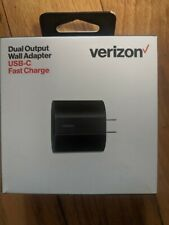 Verizon dual output wall adapter usb-c fast charge