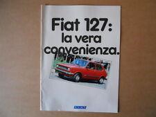 Catalogo AUTO FIAT 127 Novembre 1980 tutti i modelli 16 pagine [C88]