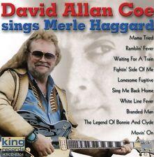 David Allan Coe - Sings Merle Haggard [New CD]