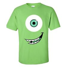 Mike Side Smile T-Shirt - Monsters Film Sully Christmas - Adults & Kids Sizes