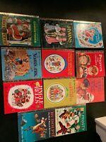 Golden Book Lot 11 Feat. 1970s Christmas, Christian;