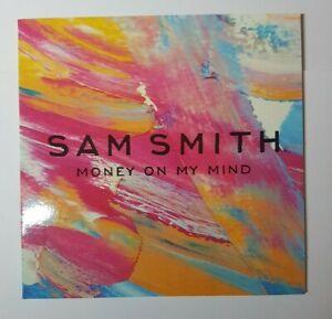 SAM SMITH : MONEY ON MY MIND ♦ FRENCH PROMO CD + PLAN MEDIA ♦