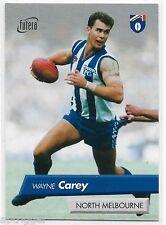 1997 Futera (17 of 26) WAYNE CAREY North Melbourne 042/50 & Sample Card