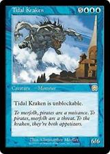 TIDAL KRAKEN Mercadian Masques MTG Blue Creature — Kraken RARE
