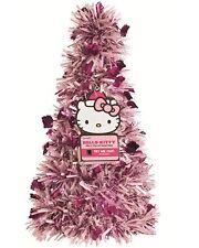 Hello Kitty Pre-Lit Tinsel Christmas Tree