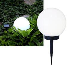 "Solar LED Leuchtkugel ""Globe-Light"" warmweiß / Kugel Kugellampe Solarkugel"
