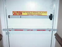 "42"" SECURITY STEEL DOOR BAR to Secure Your Home/Business/Cell phone store"
