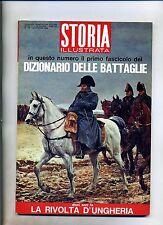 STORIA ILLUSTRATA#NOVEMBRE 1966 N.108#DIZIONARIO DELLE BATTAGLIE#Mondadori