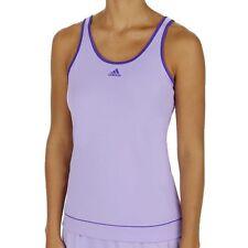 adidas Polyester Sleeveless Basic T-Shirts for Women
