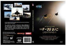 F-35 B/C Lightning II Military-Fighter Aircraft Jet Video DVD