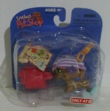 Littlest Pet Shop Dachshund Pirate Dog #307 NIB Target Exclusive