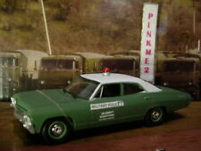 US ARMY Greenlight 1967 CHEVROLET BISCAYNE✰green/white✰Military Police✰Loose✰
