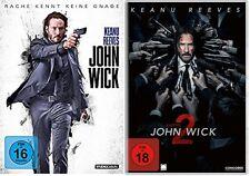 John Wick 1+2 Kapitel 1+2 DVD Set NEU OVP Teil 1+2