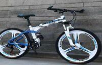 "Mountain Bike / Bicycle Aluminium Folding Frame 21 Speed 26"" Full Suspension"