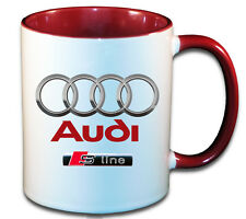 AUDI S LINE CAR ART MUG GIFT CUP ..