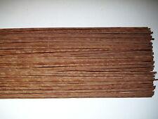 35 Holzleisten Sapeli-Pommelé 800 x 4 x 0,6 mm