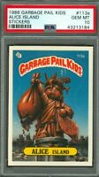 1985 Garbage Pail Kids OS3 ALICE ISLAND PSA 10 GEM MINT! Very Rare! Gpk Original