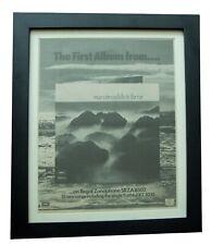 MARVIN WELCH FARRAR+LP+Faithful+POSTER+AD+ORIGINAL 1971+FRAMED+FAST GLOBAL SHIP