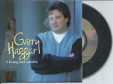 GARRY HAGGER - 't Is nog niet voorbij CD SINGLE 2TR CARDSLEEVE 1996 BELGIUM