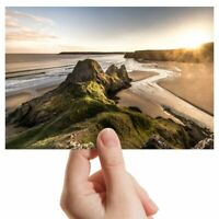 "Photograph 6x4"" - Three Cliffs Gower Peninsula Wales Art 15x10cm #16374"