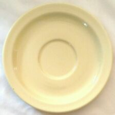 Buffalo China buttercream yellow saucer plate restaurant ware ONLY ONE ON EBAY!