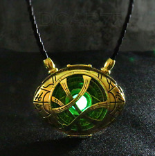 1:1 H-Q Light Dr Doctor Strange Pendant Eye Of Agamotto Necklace Prop Collection