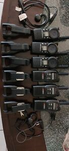 Motorola CLS1410 UHF  & Advance wireless AWR-4000 Two-Way Radio With charger
