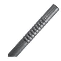 Black Polypropelene Bo Staff - Heavy Weighted Plastic Training Striking Stick