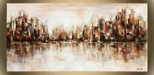 """Victor Zag - City Reflections  - Cityscapes  - Giclee Reproduction  30""""x60"""""""