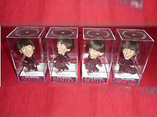 ALL 4 THE BEATLES DOLL DISPLAY CASES nem