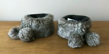 NEXT - WOMEN'S FAUX FUR BOOT TOPPERS - ONE SIZE