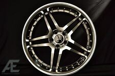 19-inch Mercedes S430 S500 S550 S600 Wheels/Rims RW2 Black AMG Style 5x112 Lugs