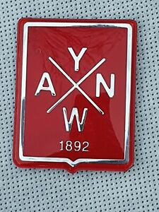VESPA LFC Chrome YNWA Legshield Adhesive Badge Decal Limited Edition
