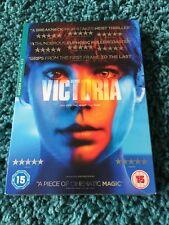 Victoria DVD Curzon Artificial Eye Cult Heist Thriller UK NEW