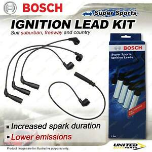 Bosch Ignition Leads for Toyota Corolla EE100R EE100 1.3 I4 12V 1991-2001