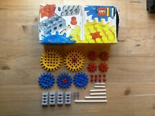 LEGO 802 Gears Supplementary Set In Original Box Universal Building Set 1970
