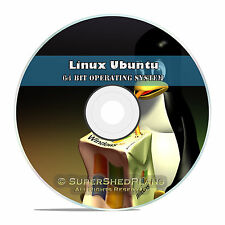 Linux Ubuntu 64 Bit 2017 Operating System DVD 17.04, Easy Windows Replacement OS