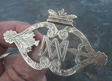Attractive LARGE Silver Scottish LUCKENBOOTH Brooch - c.1900/10