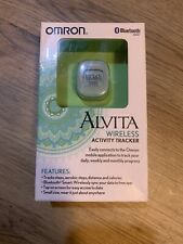Omron Alvita Wireless Activity Tracker Bluetooth - Model Hj-327T Step Counter