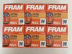 Lot Of 6 FRAM Extra Guard PH3614, 10K Mile Change Interval Spin-On Oil Filter