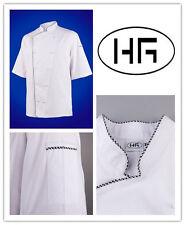 Chef Jacket Short Sleeves Premium Classic Uniform Hospitality Garments
