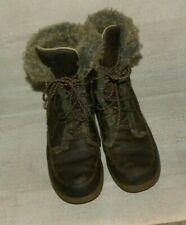 LL Bean  8 inch Size 10 M Winter Leather Insulated Boot Tel 2.5