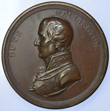 1815 Duke of Wellington British Victories of the Peninsular war box medal