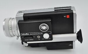 Minolta Super 8 Autopak 8 D6 Movie Camera Untested