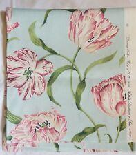 curtain cushion upholstery dancing tulips arthur sanderson 140cm x 74cm  ref.03