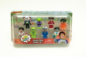 Youtube Ryans World And You 8-Piece Collectible Figure Pack Figurine Set NEW
